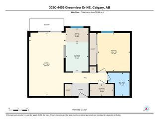Photo 19: 302C 4455 Greenview Drive in Calgary: Greenview Apartment for sale : MLS®# A1065652
