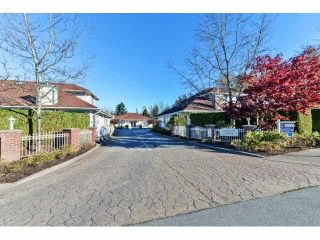 "Photo 1: 25 18939 65 Avenue in Surrey: Cloverdale BC Townhouse for sale in ""Glenwood Gardens"" (Cloverdale)  : MLS®# F1426734"