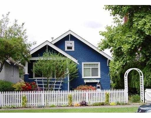 """Main Photo: 3879 TUPPER Street in Vancouver: Cambie House for sale in """"DOUGLAS PARK"""" (Vancouver West)  : MLS®# V668860"""