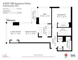Photo 19: 3201 198 AQUARIUS MEWS in Vancouver: Yaletown Condo for sale (Vancouver West)  : MLS®# R2202359