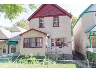 Photo 1: 489 Victor Street in WINNIPEG: West End / Wolseley Residential for sale (West Winnipeg)  : MLS®# 1423579