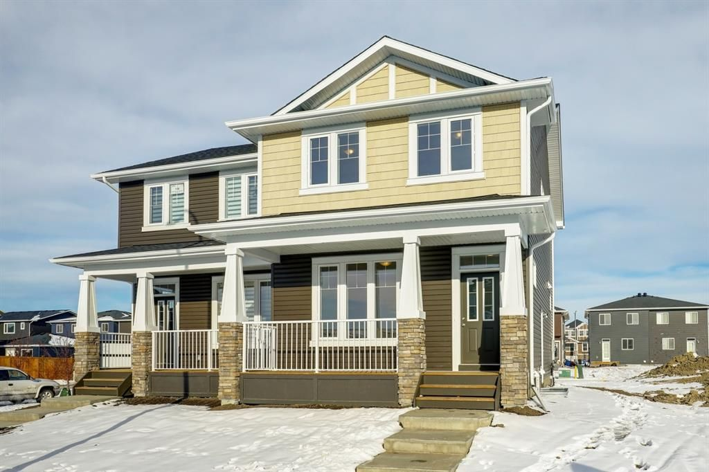 Main Photo: 110 Red Embers Common NE in Calgary: Redstone Semi Detached for sale : MLS®# A1051113