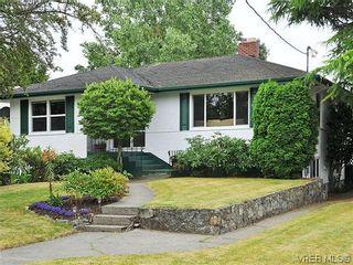 Photo 1: 2041 Allenby St in VICTORIA: OB Henderson House for sale (Oak Bay)  : MLS®# 615714