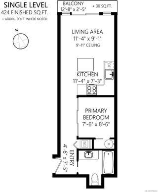 Photo 15: 403 1121 Fort St in : Vi Downtown Condo for sale (Victoria)  : MLS®# 878404