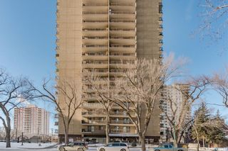 Photo 1: 202 311 6th Avenue North in Saskatoon: Central Business District Residential for sale : MLS®# SK841465