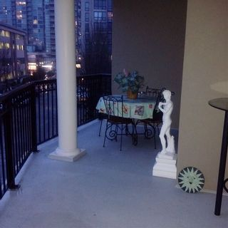 "Photo 12: 311 1185 PACIFIC Street in Coquitlam: North Coquitlam Condo for sale in ""CENTREVILLE"" : MLS®# R2166086"