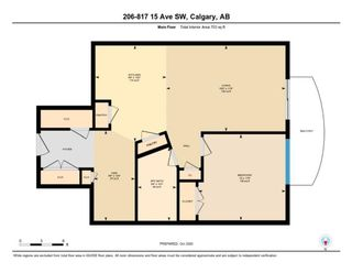 Photo 24: 206 817 15 Avenue SW in Calgary: Beltline Apartment for sale : MLS®# A1043773