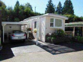 """Photo 3: 15 4200 DEWDNEY TRUNK Road in Coquitlam: Ranch Park Manufactured Home for sale in """"HIDEWAY PARK"""" : MLS®# V967893"""
