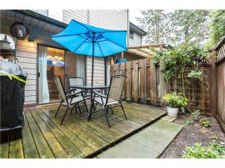 Photo 15: 263 BALMORAL Place in Port Moody: North Shore Pt Moody Townhouse for sale : MLS®# V1085063