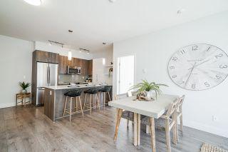 """Photo 2: 405 630 COMO LAKE Avenue in Coquitlam: Coquitlam West Condo for sale in """"COMO LIVING"""" : MLS®# R2578163"""