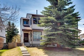 Main Photo: 7 STRATHCONA Crescent SW in Calgary: Strathcona Park Semi Detached for sale : MLS®# C4296435