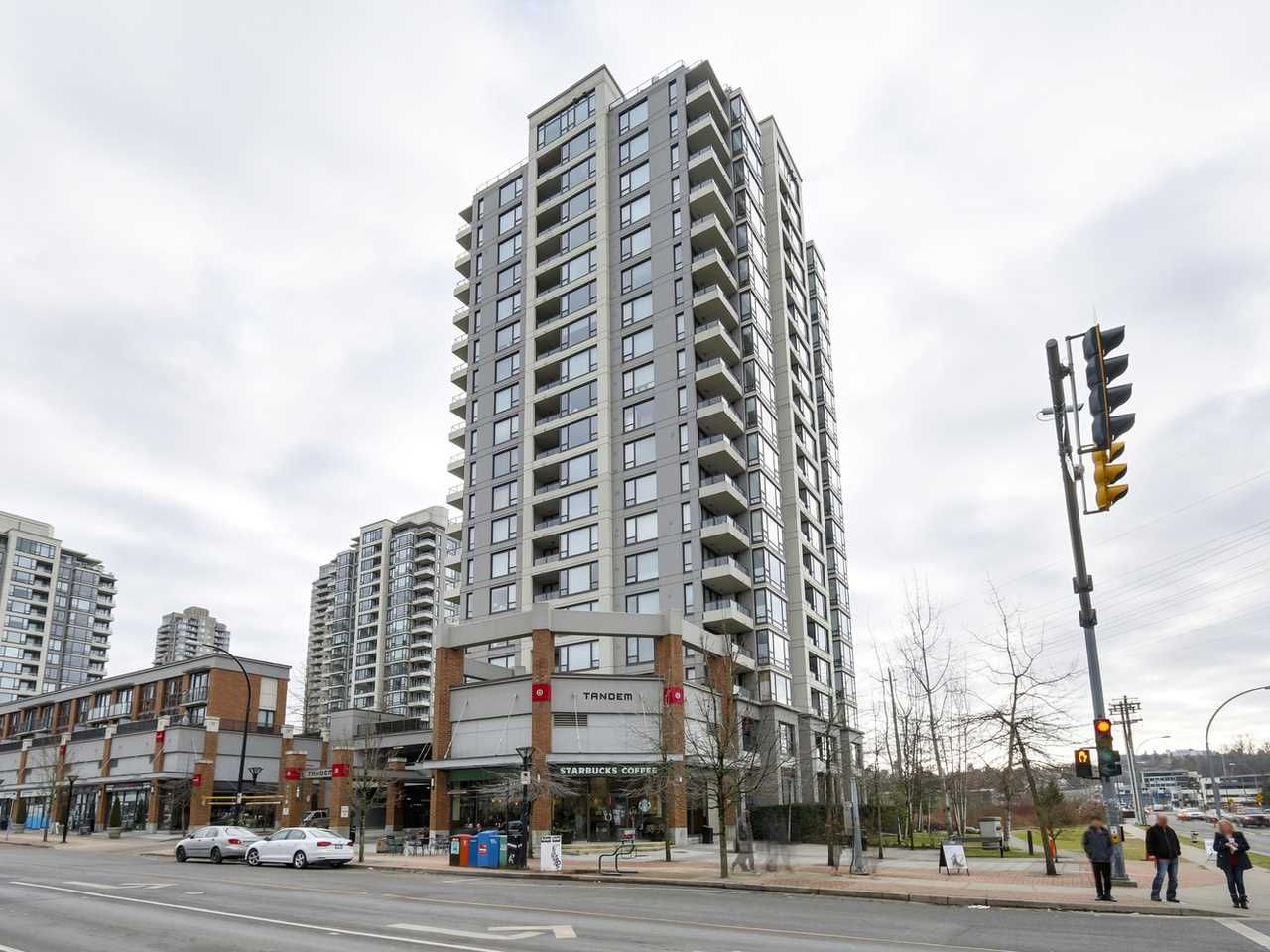"""Main Photo: 707 4118 DAWSON Street in Burnaby: Brentwood Park Condo for sale in """"TANDEM"""" (Burnaby North)  : MLS®# R2135489"""