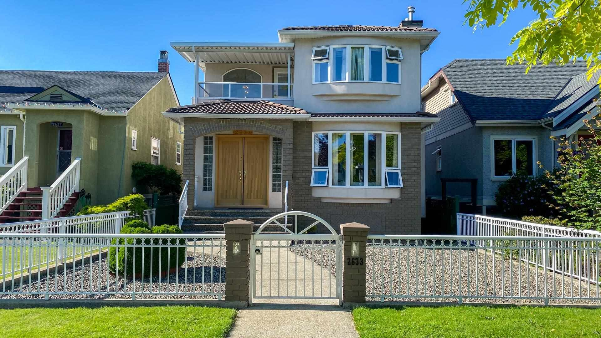 Main Photo: 2633 KITCHENER Street in Vancouver: Renfrew VE House for sale (Vancouver East)  : MLS®# R2595654