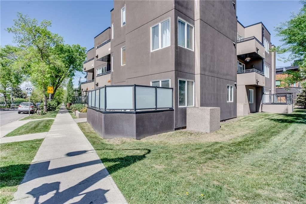 Main Photo: 103 320 12 Avenue NE in Calgary: Crescent Heights Apartment for sale : MLS®# C4248923