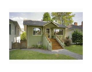 Photo 1: 3539 W 10TH AV in Vancouver: House for sale : MLS®# V931077