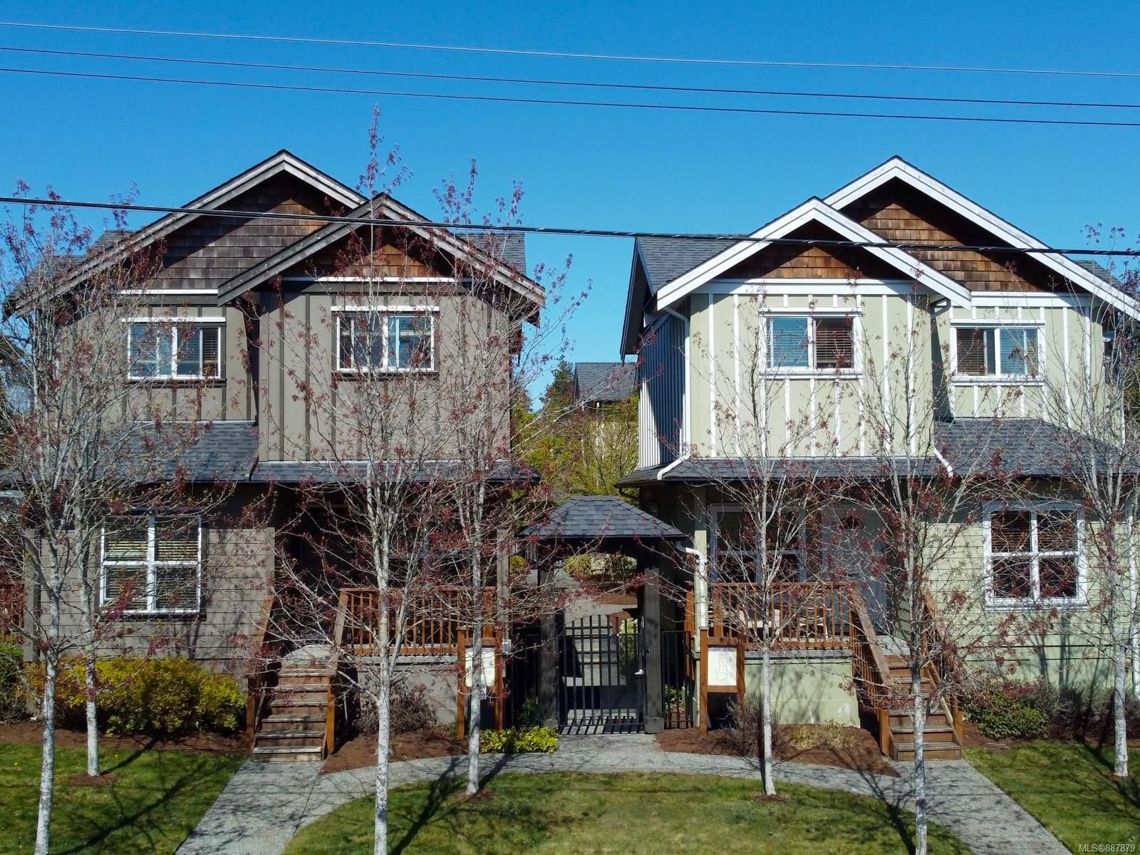 Main Photo: 101 582 Rosehill St in : Na Central Nanaimo Row/Townhouse for sale (Nanaimo)  : MLS®# 887879