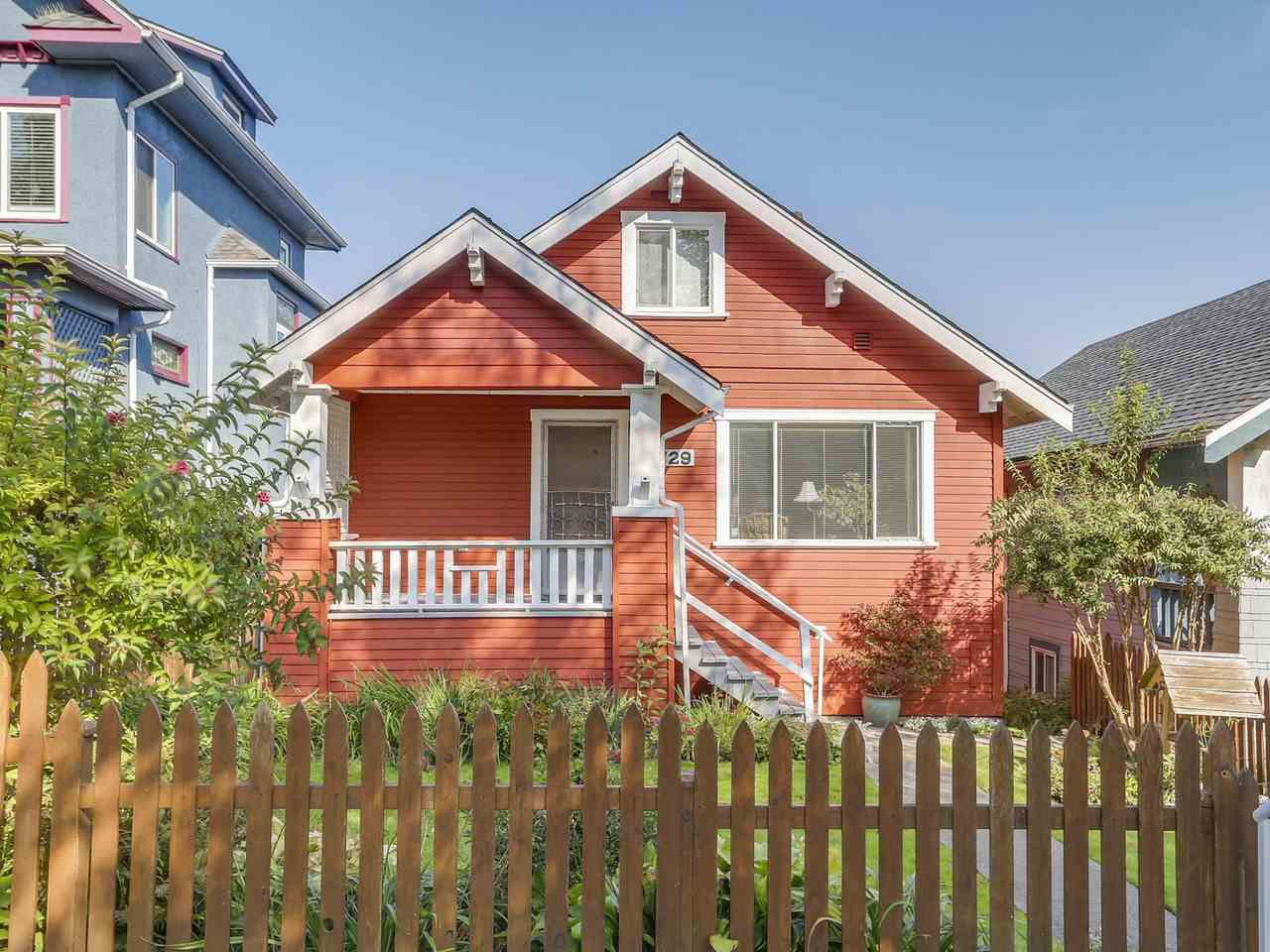 Main Photo: 729 E 10TH Avenue in Vancouver: Mount Pleasant VE House for sale (Vancouver East)  : MLS®# R2113707