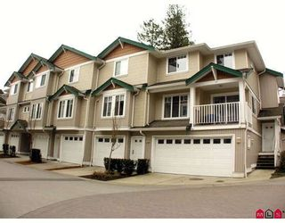 """Photo 1: 37 12711 64TH Avenue in Surrey: West Newton Townhouse for sale in """"PALETTE ON THE PARK"""" : MLS®# F2905934"""