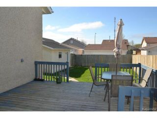 Photo 17: 58 Becontree Bay in WINNIPEG: St Vital Residential for sale (South East Winnipeg)  : MLS®# 1411805