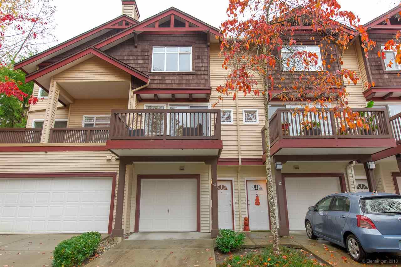 """Main Photo: 46 15 FOREST PARK Way in Port Moody: Heritage Woods PM Townhouse for sale in """"DISCOVERY RIDGE"""" : MLS®# R2420824"""