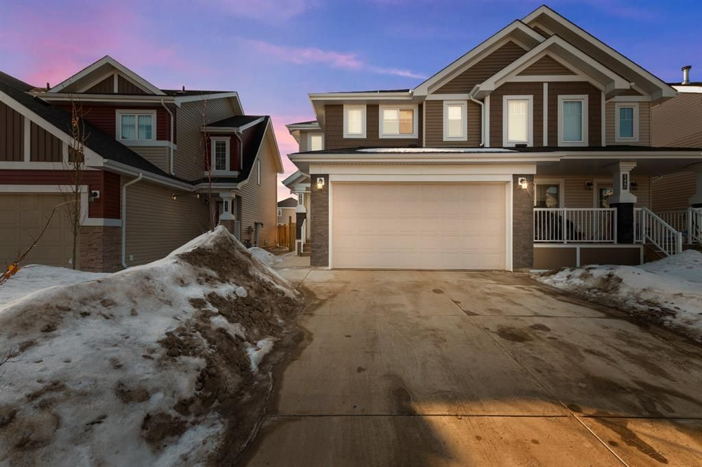 Welcome to 141 Blackburn. This home welcomes you with a large driveway and double garage big enough for all your toys!