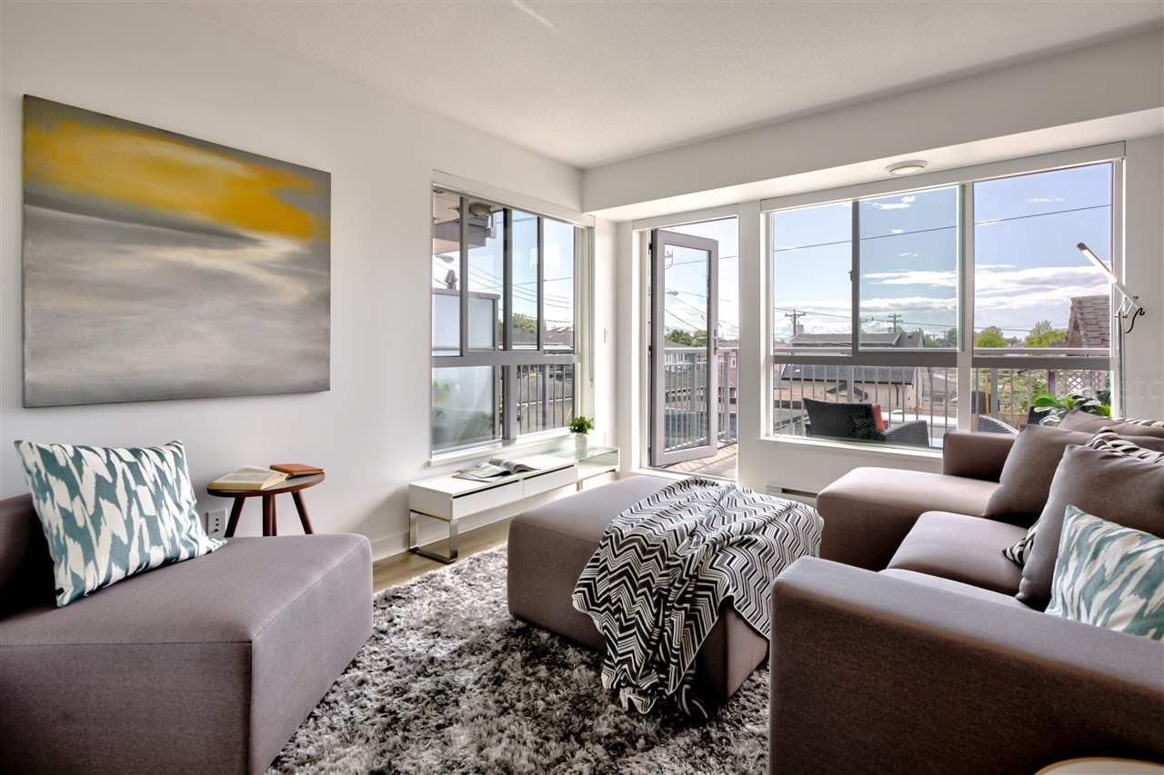 """Main Photo: 105 2888 E 2ND Avenue in Vancouver: Renfrew VE Condo for sale in """"Sesame"""" (Vancouver East)  : MLS®# R2584618"""