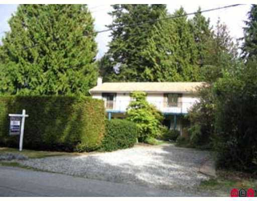 """Main Photo: 2740 124B Street in White Rock: Crescent Bch Ocean Pk. House for sale in """"CRESCENT HEIGHTS"""" (South Surrey White Rock)  : MLS®# F2704479"""