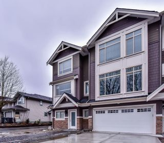 "Photo 1: 5 3126 WELLINGTON Street in Port Coquitlam: Glenwood PQ Townhouse for sale in ""PARKSIDE"" : MLS®# R2242079"