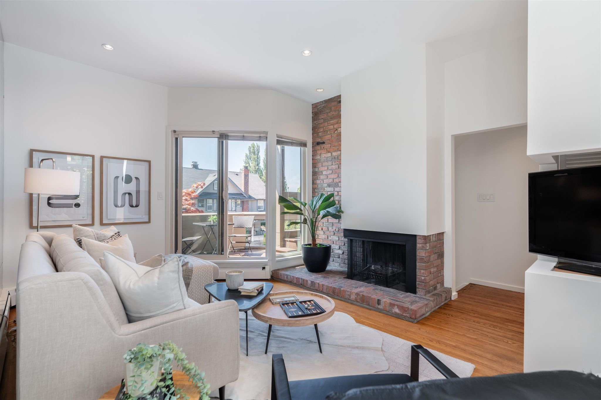 """Main Photo: 1718 MACDONALD Street in Vancouver: Kitsilano Townhouse for sale in """"Cherry West"""" (Vancouver West)  : MLS®# R2602789"""