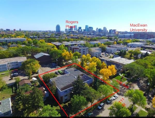 Main Photo: 11140 108 Avenue NW in Edmonton: Zone 08 Multi-Family Commercial for sale : MLS®# E4243366