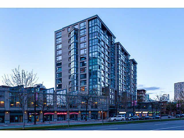 """Main Photo: 1502 1177 PACIFIC Boulevard in Vancouver: Yaletown Condo for sale in """"PACIFIC PLAZA"""" (Vancouver West)  : MLS®# V1122980"""