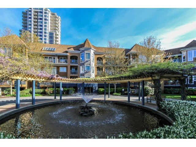 "Main Photo: 110 3075 PRIMROSE Lane in Coquitlam: North Coquitlam Condo for sale in ""LAKESIDE TERRACE"" : MLS®# V1117875"