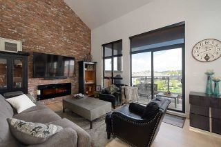 """Photo 4: 401 220 SALTER Street in New Westminster: Queensborough Condo for sale in """"GLASSHOUSE LOFTS"""" : MLS®# R2159431"""