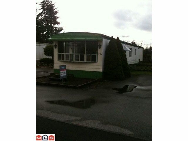 Main Photo: 35 4426 232 STREET STREET in : Brookswood Langley Manufactured Home for sale : MLS®# F1100088