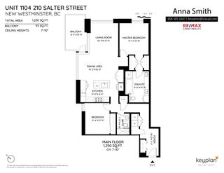 Photo 8: 1104 210 Salter Street in New Westminster: Queensborough Condo for sale