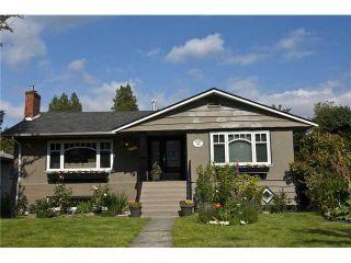 Photo 1: 4466 CHALDECOTT ST in Vancouver: Dunbar House for sale (Vancouver West)  : MLS®# V1022484
