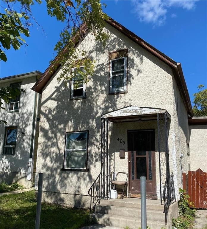 Main Photo: 495 Pritchard Avenue in Winnipeg: North End Residential for sale (4A)  : MLS®# 202122701