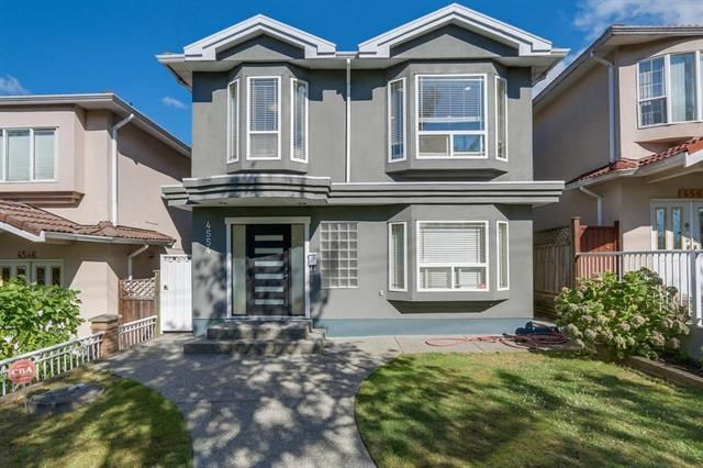 Main Photo: 4554 DUMFRIES ST in VANCOUVER: Knight House for sale (Vancouver East)  : MLS®# R2110266