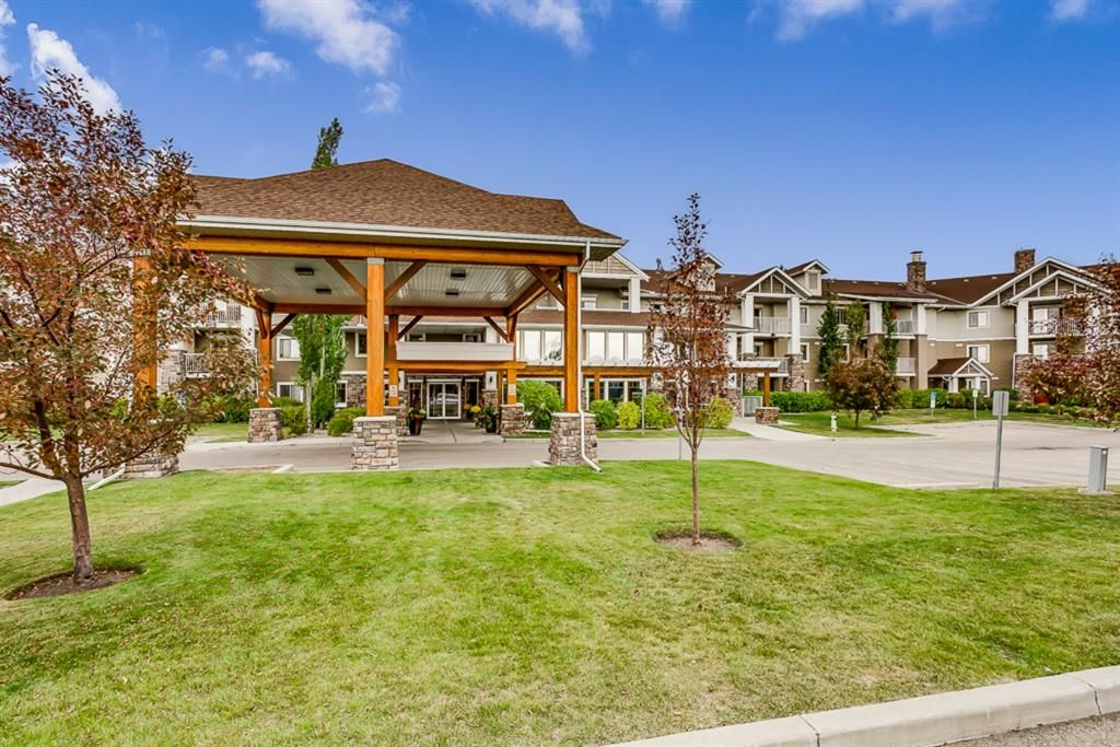 Main Photo: 312 428 CHAPARRAL RAVINE View SE in Calgary: Chaparral Apartment for sale : MLS®# A1055815