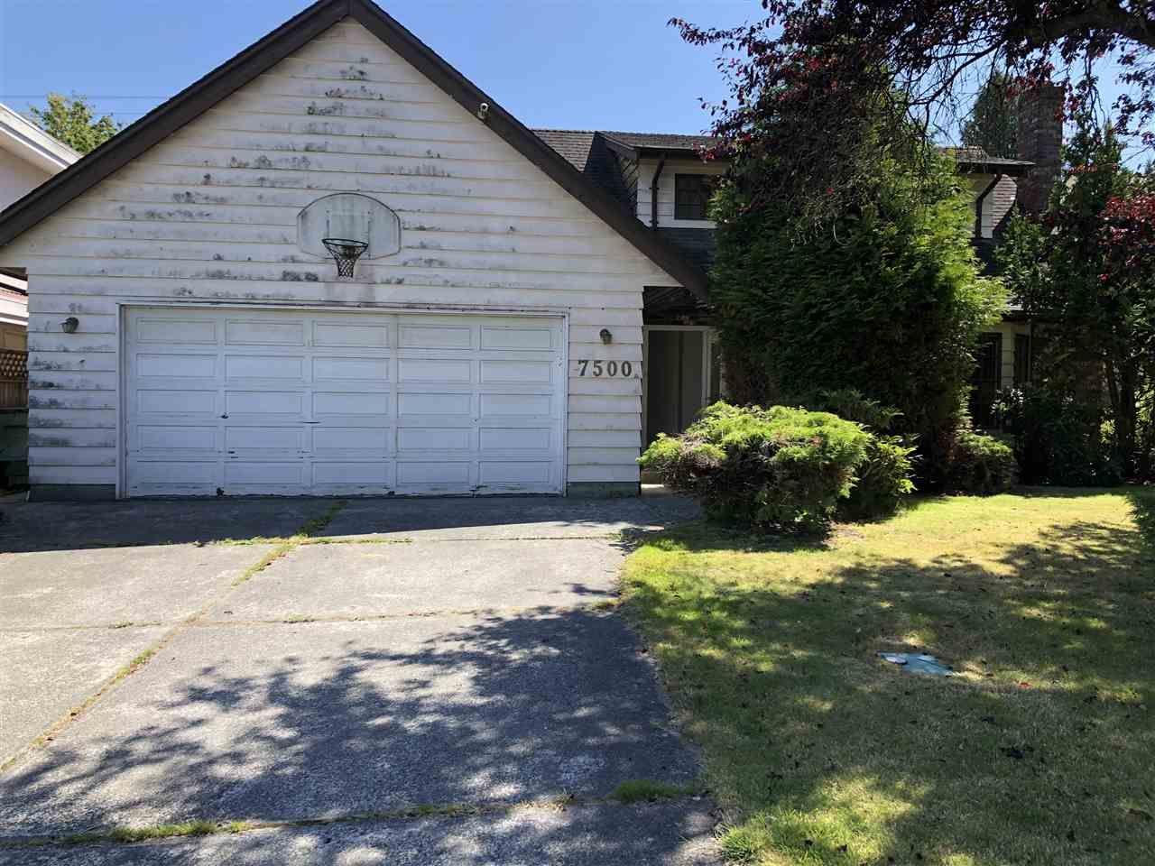 Main Photo: 7500 WATERTON Drive in Richmond: Broadmoor House for sale : MLS®# R2476265