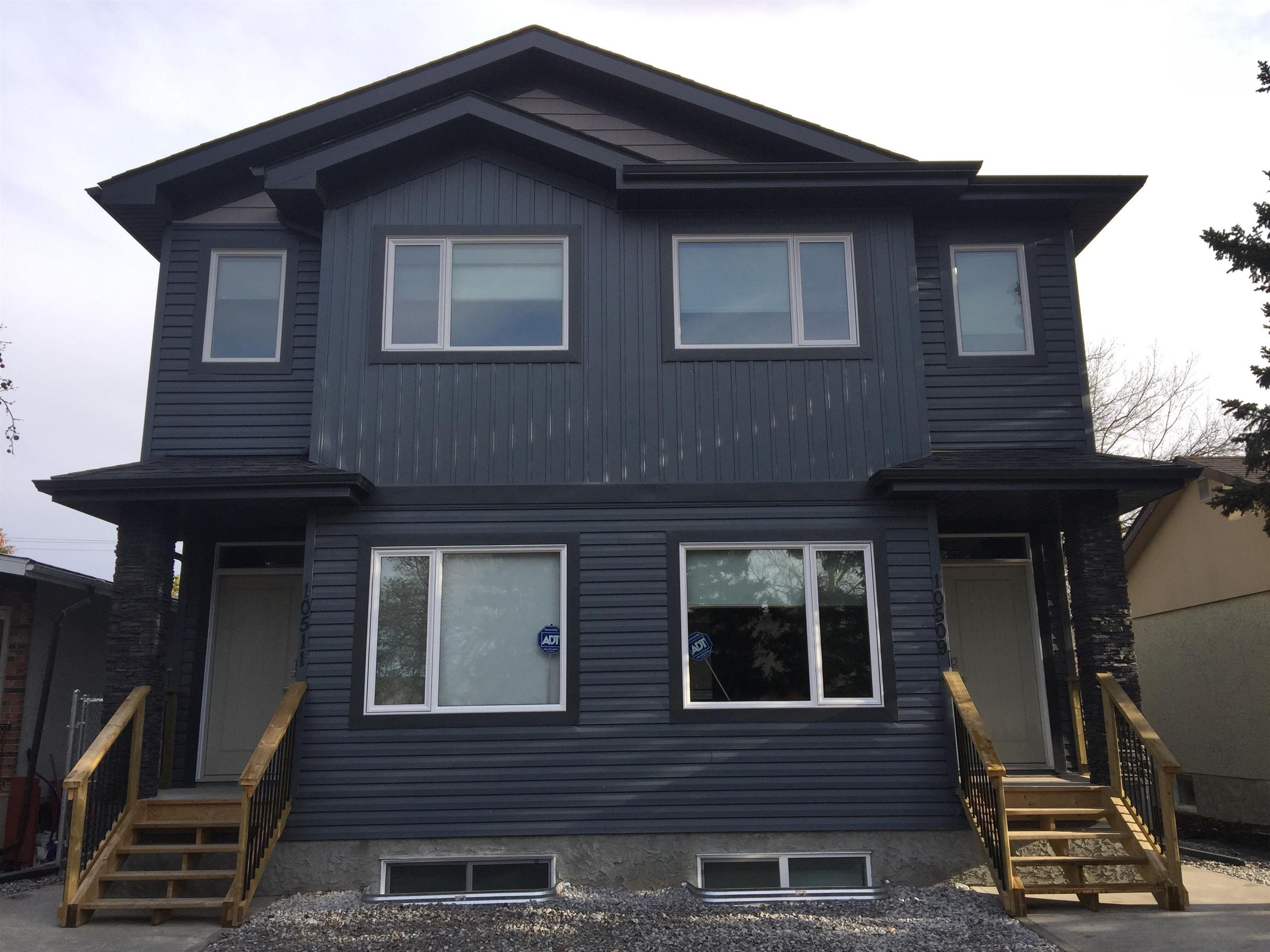 Main Photo: 10511 154 Street in Edmonton: Zone 21 House Half Duplex for sale : MLS®# E4266351