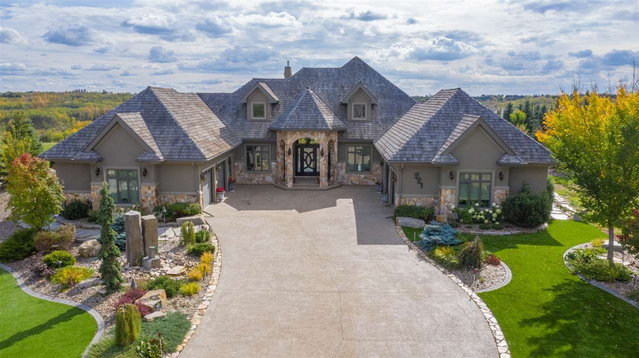 Main Photo: 221 RIVER HEIGHTS Cove: Rural Sturgeon County House for sale : MLS®# E4236213