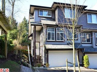 """Main Photo: 36 14462 61A Avenue in Surrey: Sullivan Station Townhouse for sale in """"RAVINA"""" : MLS®# F1204035"""