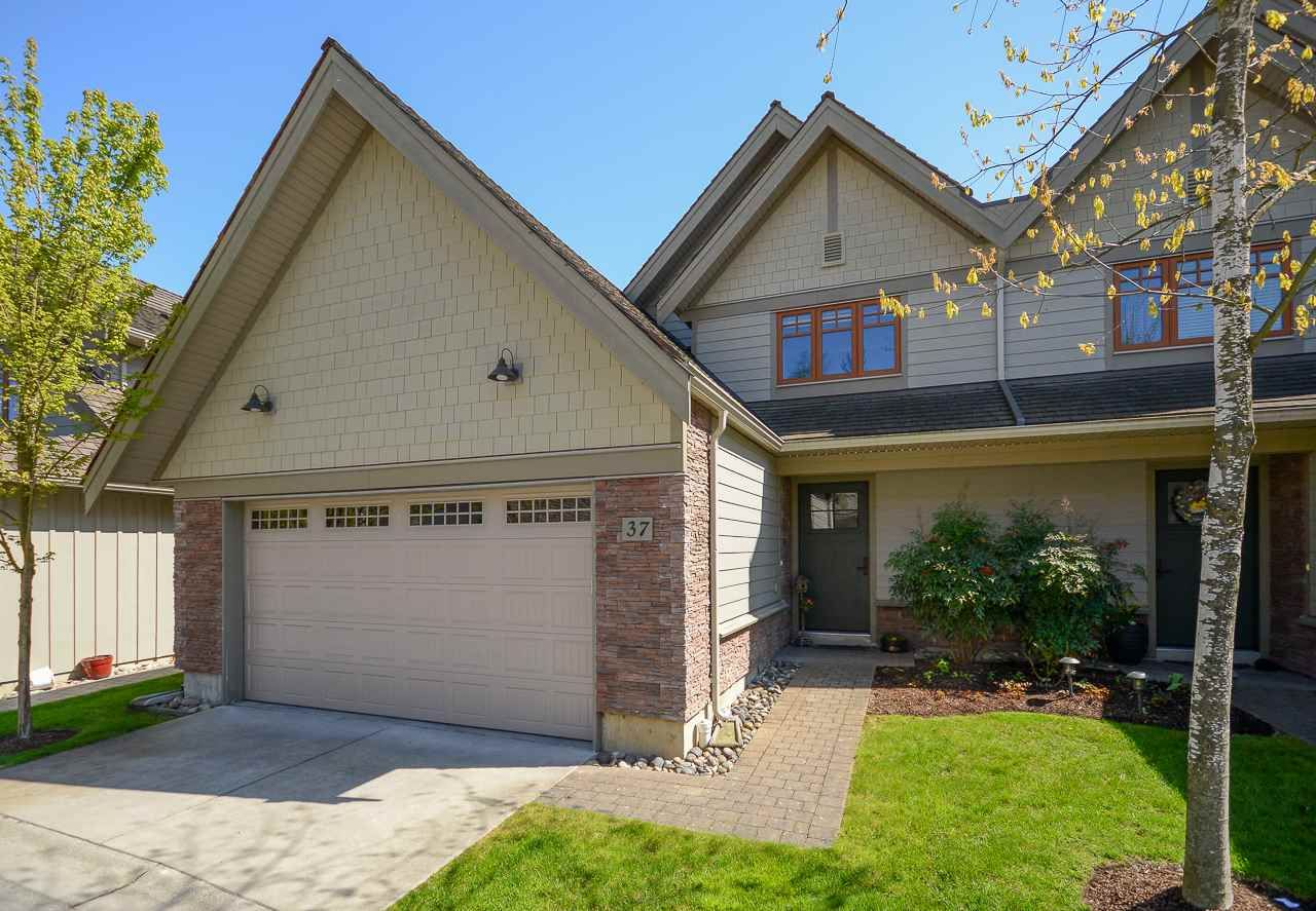 """Main Photo: 37 3109 161 Street in Surrey: Grandview Surrey Townhouse for sale in """"WILLS CREEK"""" (South Surrey White Rock)  : MLS®# R2362651"""