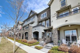 Main Photo: 444 Quarry Way SE in Calgary: Douglasdale/Glen Row/Townhouse for sale : MLS®# A1094767