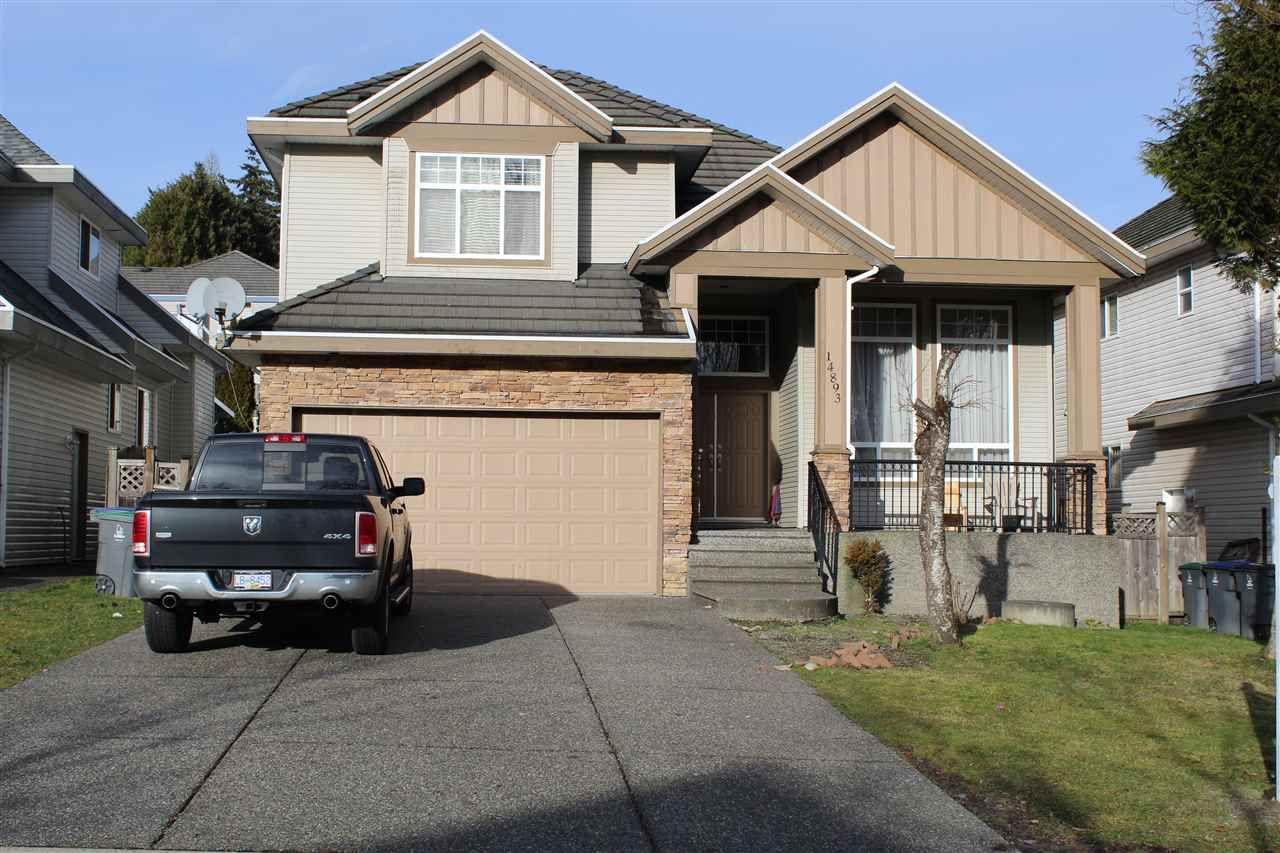Main Photo: 14893 67A AVENUE in Surrey: East Newton House for sale : MLS®# R2333753