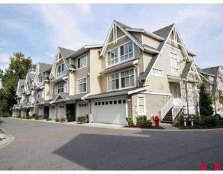 "Photo 1: 6450 199TH Street in Langley: Willoughby Heights Townhouse for sale in ""Logan's Landing"" : MLS®# F2702105"