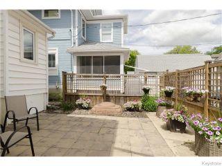 Photo 19: 93 Arlington Street in Winnipeg: West End / Wolseley Residential for sale (West Winnipeg)  : MLS®# 1617427