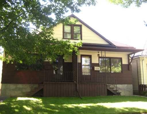 Main Photo: 526 SIMCOE Street in WINNIPEG: West End / Wolseley Residential for sale (West Winnipeg)  : MLS®# 2816151