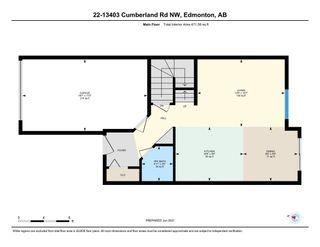 Photo 47: 22 13403 CUMBERLAND Road in Edmonton: Zone 27 House Half Duplex for sale : MLS®# E4266223